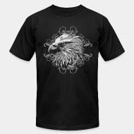 American Apparel t-shirt Bird face Eagle