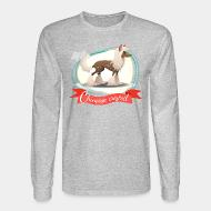 Long sleeves Chinese Crested