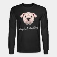 Long sleeves english bulldog