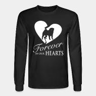 Long sleeves Forever in your heart pug
