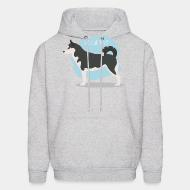 Hooded Sweatshirt seberian husky