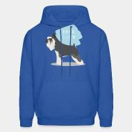 Hooded Sweatshirt Miniature Schnauzer
