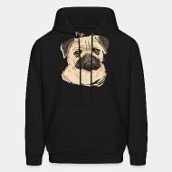 Hooded Sweatshirt Pug