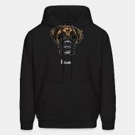 Hooded Sweatshirt Boxer