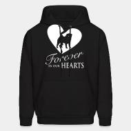 Hoodie Forever in your heart pug