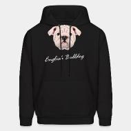 Hooded Sweatshirt english bulldog