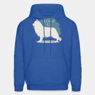 Hooded Sweatshirt Berger blanc suisse