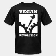 American Apparel t-shirt Vegan Revolution