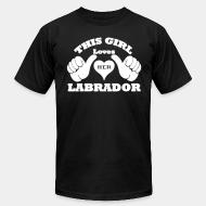 This loves her Labrador