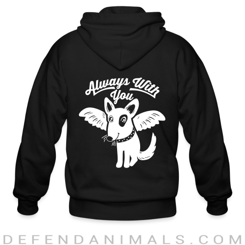 Always with you - Dogs Lovers Zip hoodie