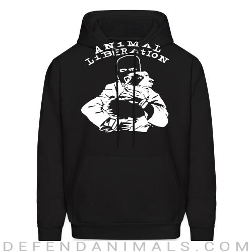 Animal liberation - Animal Rights Activism Hooded sweatshirt