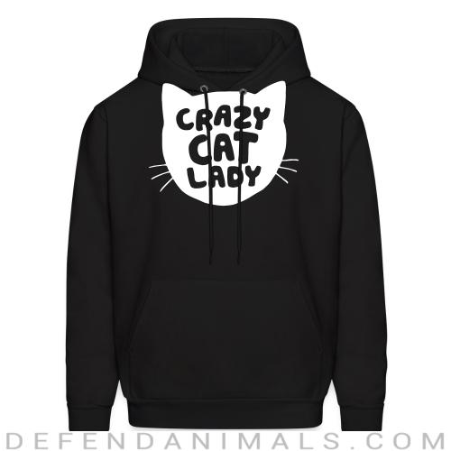 crazy cat lady  - Cats Lovers Hooded sweatshirt