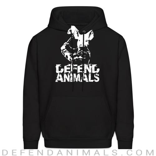 Defend animals - Animal Rights Activism Hooded sweatshirt