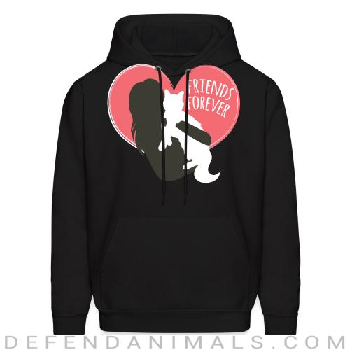 Friends Forever  - Cats Lovers Hooded sweatshirt