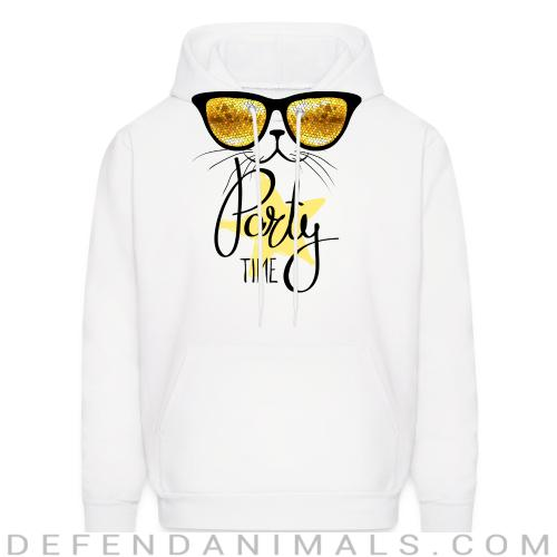 Party time  - Cats Lovers Hooded sweatshirt