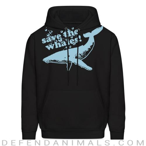 Save the whales - Animal Rights Activism Hooded sweatshirt