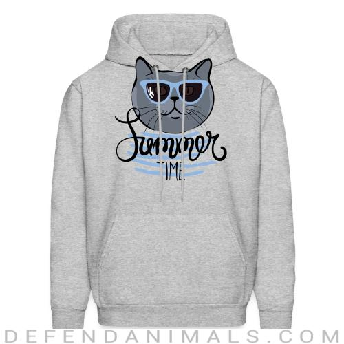 Summer time  - Cats Lovers Hooded sweatshirt