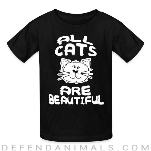 All cats are beautiful - Cats Lovers Kids t-shirt