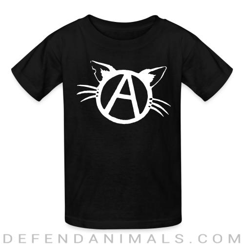 Anarchy cat - Cats Lovers Kids t-shirt