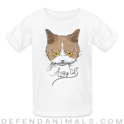 Angry Cat  - Cats Lovers Kids t-shirt