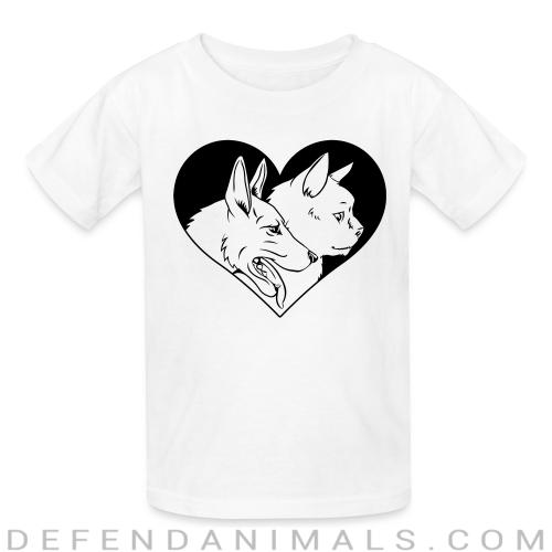 Cat and dog - Cats Lovers Kids t-shirt
