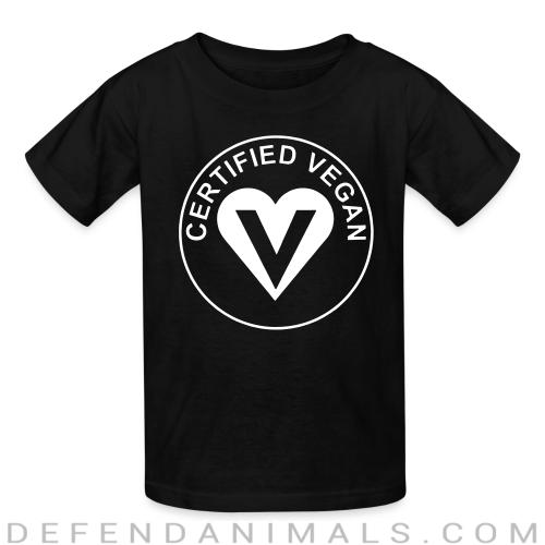 Certified vegan - Vegan Kids t-shirt