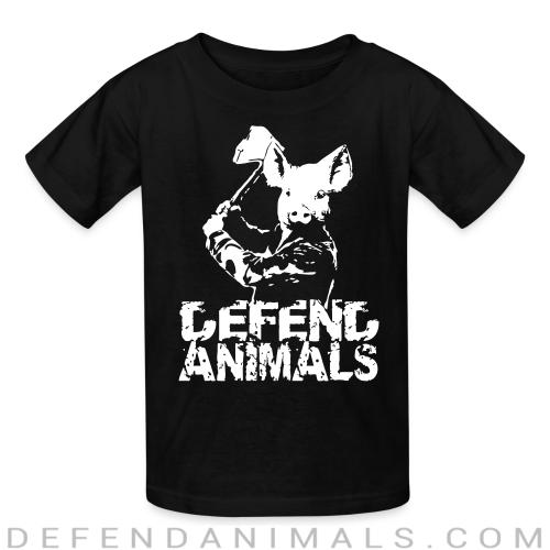 Defend animals - Animal Rights Activism Kids t-shirt