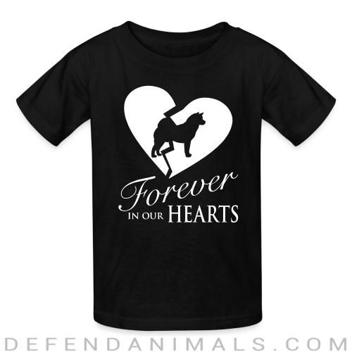Forever in your hearts - Dog Breeds Kids t-shirt
