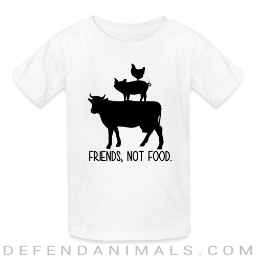 Friends, not food - Animal Rights Activism Kids t-shirt