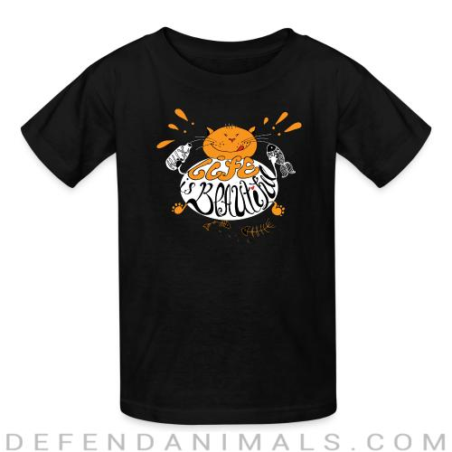 life is beautiful  - Cats Lovers Kids t-shirt