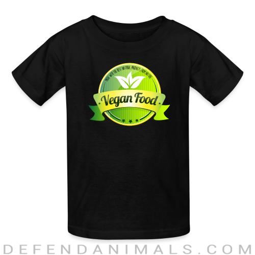 Made with the best natural product from nature Vegan food  - Vegan Kids t-shirt
