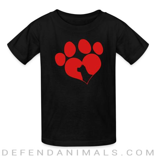 paw - Dogs Lovers Kids t-shirt