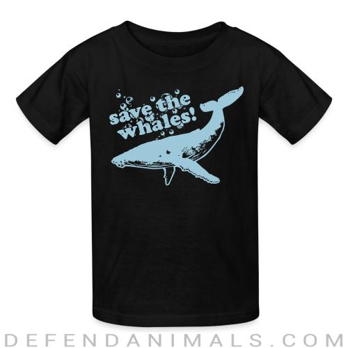 Save the whales - Animal Rights Activism Kids t-shirt