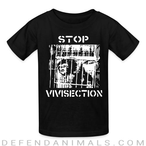 Stop vivisection - Animal Rights Activism Kids t-shirt