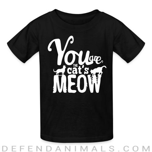 You are cat's meow - Cats Lovers Kids t-shirt
