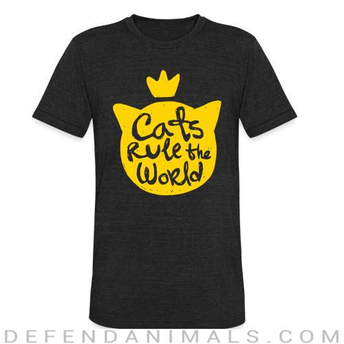 Cats rule the world - Cats Lovers Local T-shirt