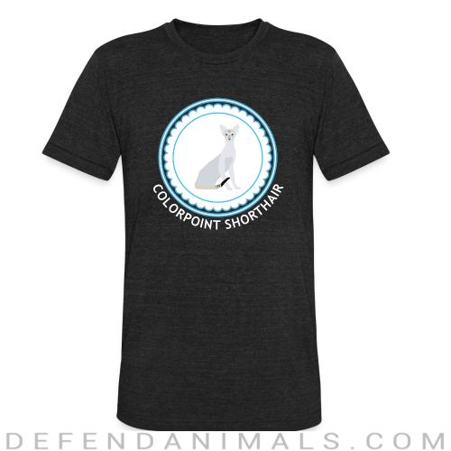 Colorpoint Shorthair Cat - Cat Breeds Local T-shirt