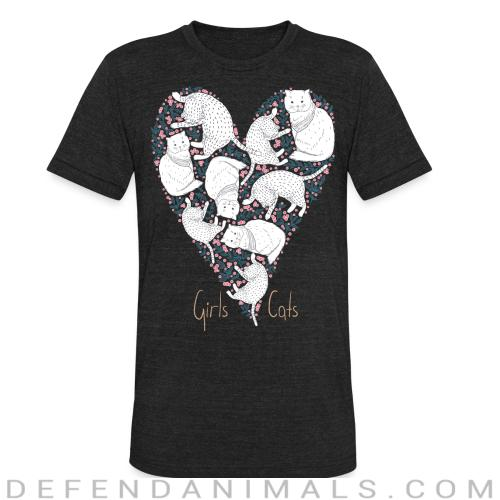 Girls Cats - Cats Lovers Local T-shirt