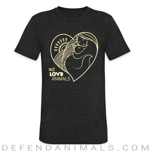 we love animals  - Cats Lovers Local T-shirt