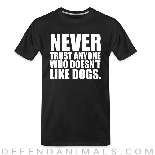 Dogs Lovers Organic T-shirt - Dogs Lovers Organic T-shirt