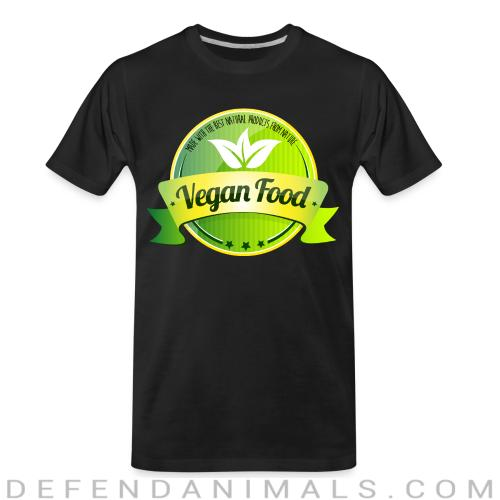 Made with the best natural product from nature Vegan food  - Vegan Organic T-shirt