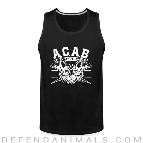 A.C.A.B. All Cats Are Beautiful  - Cats Lovers Tank top