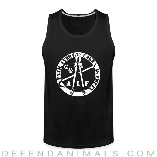 ALF until every cage is empty - Animal Rights Activism Tank top
