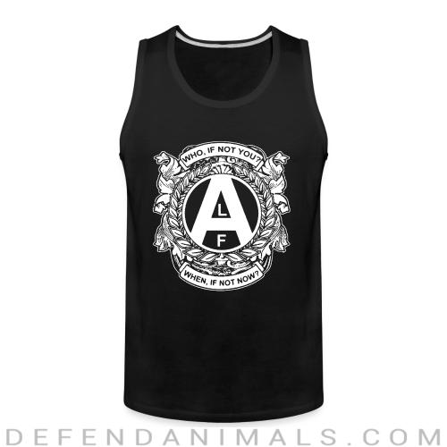 ALF - who, if not you? when, if not now? - Animal Rights Activism Tank top