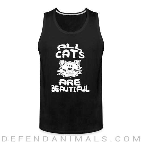 All cats are beautiful - Cats Lovers Tank top