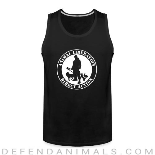 Animal liberation direct action - Animal Rights Activism Tank top