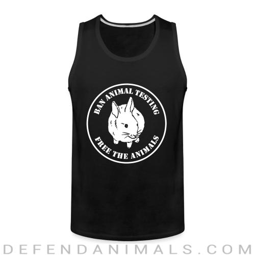 Ban animal testing free the animals - Animal Rights Activism Tank top