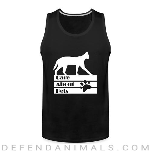 Care about pets - Cats Lovers Tank top