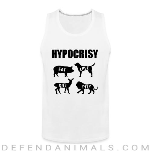 Carnist Hypocrisy - Animal Rights Activism Tank top
