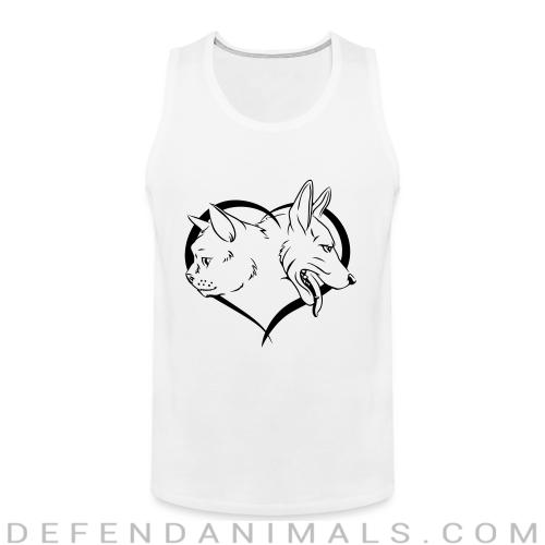 Cat and Dog - Cats Lovers Tank top